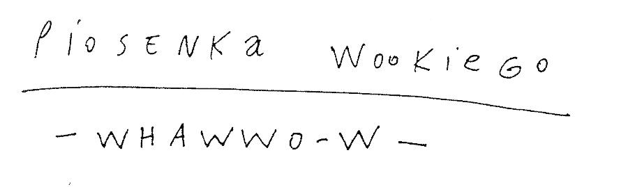 Piosenka Wookiego