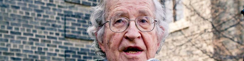 Noam Chomsky: Long before Georges Orwell...
